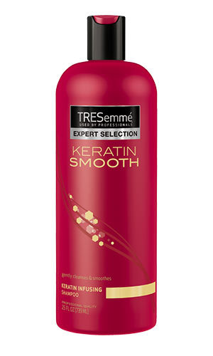 <p>Tresemmé Keratin Smooth Colour Shampoo, $7, at drugstores and mass-market retailers,<em> tresemme.ca </em></p>