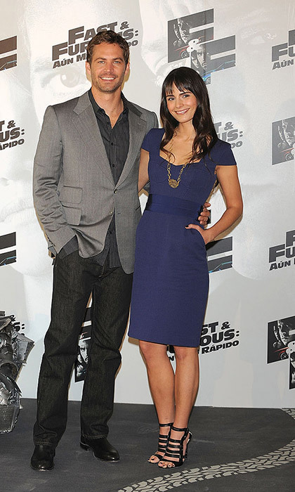 Jordana and Paul starred together in seven <em>Fast and the Furious</em> films.