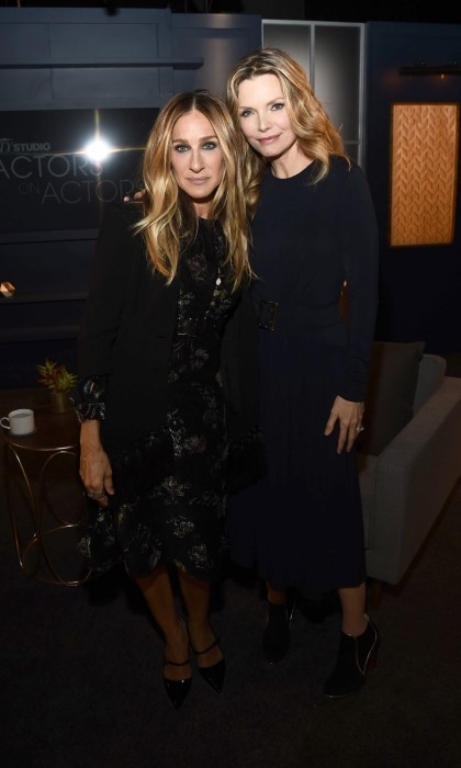 <h4>Apr. 1:</h4> Sarah Jessica Parker and Michelle Pfeiffer joined a star-studded lineup at Variety Studio: Actors on Actors. Other pairings included: Oprah Winfrey with Thandie Newton, Anthony Anderson with Kaley Cuoco, Sterling K. Brown with Pamela Adlon, and John Lithgow with Kevin Bacon.