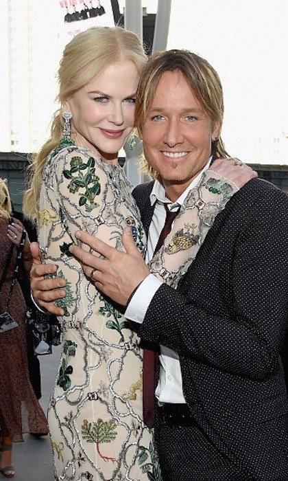 <h4>Apr. 2:</h4> Keith Urban and Nicole Kidman were one of the cutest couples on the red carpet at the 2017 Academy Of Country Music in Las Vegas. 
