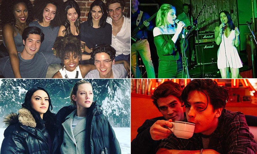 <p>The new hit series <em>Riverdale</em> is as juicy as it is nostalgic, with viewers young and old tuning in every week to see the reincarnation of <em>Archie</em> comics most popular characters navigate the dark and sometimes dangerous halls of high school. And while friendships are tested by deceit, betrayal and a whole lot of drama on screen, the same can't be said for the talented cast, who based on their social media can't get enough of each other.</p><p>Here, we round up some our favourite social media moments that prove the gang from the Netflix series are 100 percent #friendshipgoals.</p>