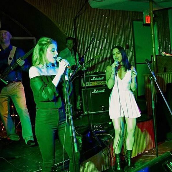 <h2>They jam out together</h2><p>Who doesn't want to let loose after a long day of work with your favourite gal pal? Camila Mendes (Veronica Lodge) and Lili Reinhart (Betty Cooper) sung their hearts out as they performed at the show's season one wrap party.</p><p>Photo: © Instagram</p>