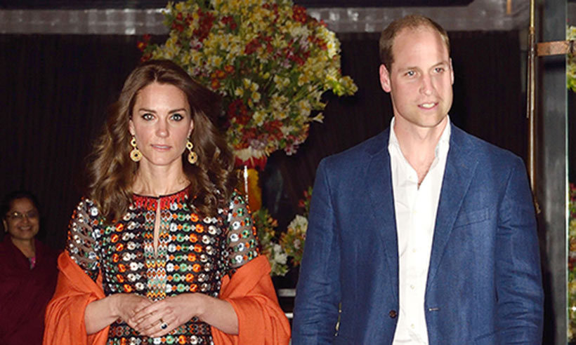Prince William and Kate enjoy a night out