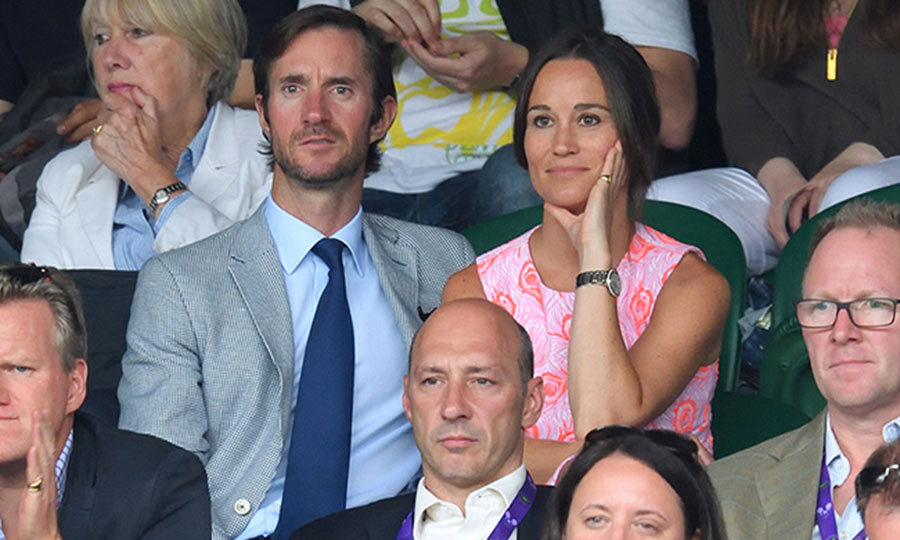 Pippa Middleton and fiance James Matthews
