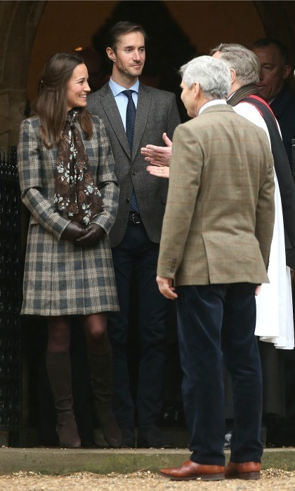 <h4><strong>The Officiant</strong></h4><p>For their big day, Pippa and James have asked Rev. Nick Wynne-Jones to officiate the ceremony. Rev. Nick is the resident priest at St. Mark&rsquo;s and was seen greeting Pippa and James after the Middleton family attended Christmas Day service in 2016.</p><p>Photo: Getty Images</p>