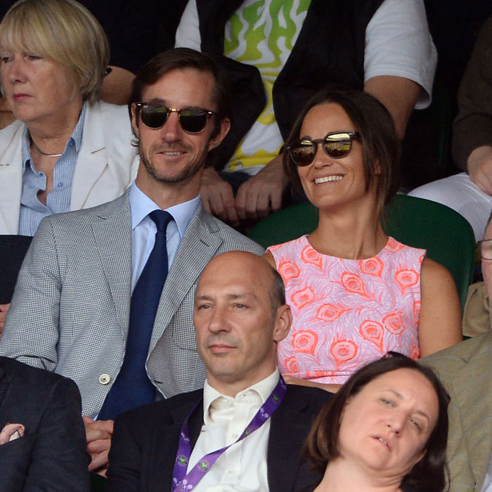 <h4><strong>The Engaged Couple</strong></h4><p>The pair publicly debuted their relationship in July 2016 at Wimbledon - though they were an item long before their courtside date. Pippa and James previously dated in 2012 before rekindling their romance at the end of 2015.</p><p>Photo: Anthony Devlin PA Wire/PA Images</p>
