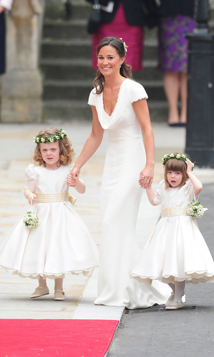<h4><strong>The Bride</strong></h4><p>Pippa, born on September 6, 1983, to Carole and Michael Middleton, is the Duchess of Cambridge&rsquo;s younger sister. The party planner was launched into the international spotlight after serving as the maid of honor at Kate&rsquo;s royal wedding in 2011. Since the news of her engagement to millionaire James came to light, the bride-to-be has found herself at the center of the world&rsquo;s attention, yet again.</p><p>Photo: Guibbaud-Mousse-Nebinger-Orban ABACA/PA Images</p>