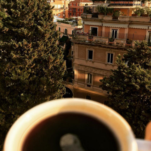 "Sofia Vergara told fans she was ""blessed"" to wake up to this view in Rome.