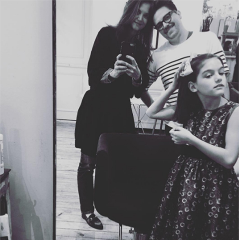 Katie Holmes has always said that her ten-year-old daughter Suri Cruise, pictured here on Instagram, is her priority.