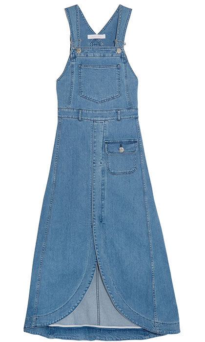 <h3>Denim Heaven</h3><p>See By Chloé Denim Midi Dress, $530, <em>net-a-porter.com</em></p>