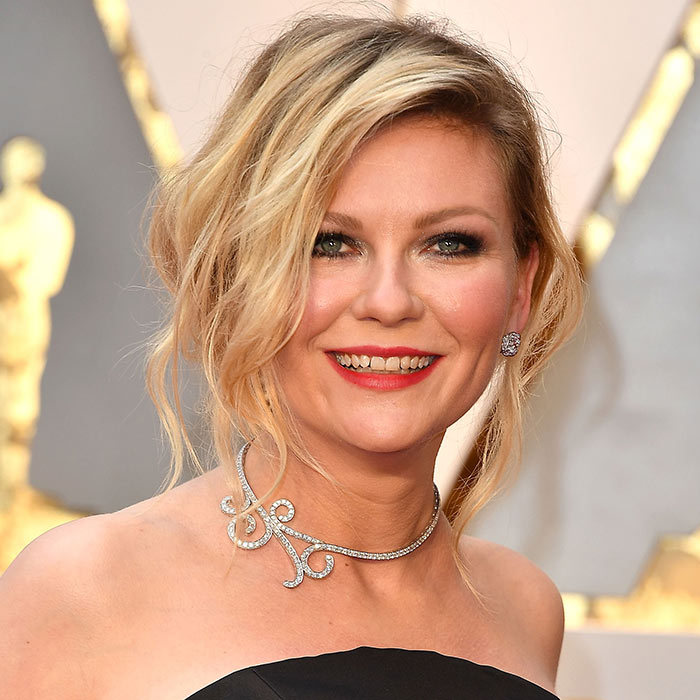 <h2><strong>Undone up-do</strong></h2><p>Up-dos don&rsquo;t have to be overtly pretty and polished. See this undone look on Kirsten Dunst. Celebrity hairstylist Adir Abergel went for a French-inspired look with a deep side part and soft waves to complete a simple low bun. The face-framing pieces add an intentionally messy look while saving you the stress of carrying around a bottle of hairspray.</p><p>Photo: &copy; Getty Images</p>