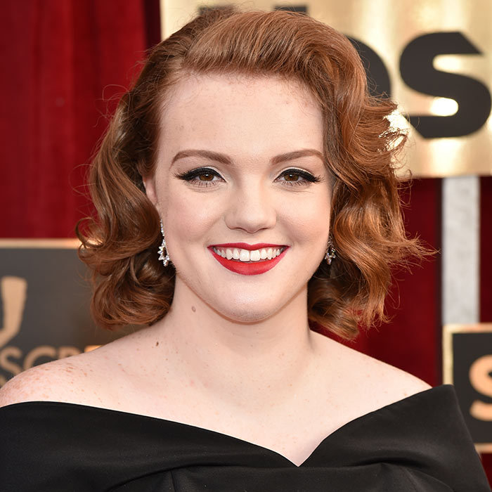 <h2><strong>Hollywood glam</strong></h2><p>Make any affair the most glamorous night out to date with Hollywood-worthy hair inspired by Shannon Purser of <em>Stranger Things</em>. Set your hair in large curlers to create&nbsp;thick waves that can be pinned back, retro-glam style, and&nbsp;set with a max-hold hairspray to keep that&nbsp;coif in place all night long.</p><p>Photo: &copy; Getty Images</p>