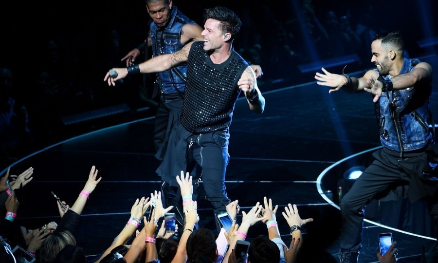 <h4>Apr. 5:</h4> Livin' La Vida Loca! Ricky Martin officially kicked off his high-energy residency at the Monte Carlo Resort and Casino in Las Vegas. 