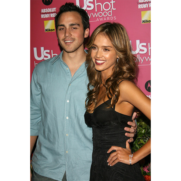 <h2>Jessica Alba and Joshua Alba</h2>