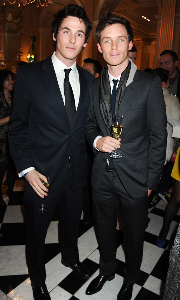 <h2>Eddie Redmayne and Tom Redmayne</h2>