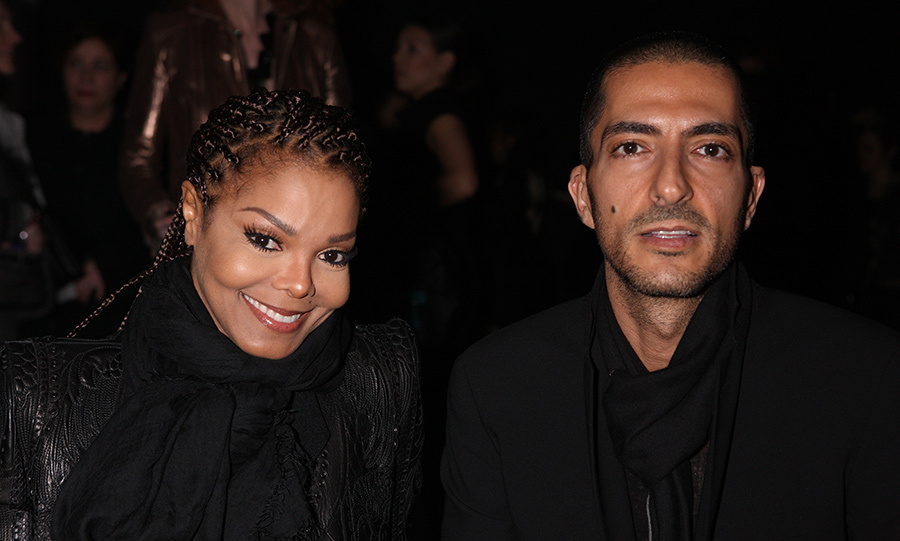 Janet Jackson with her husband Wissam Al Mana