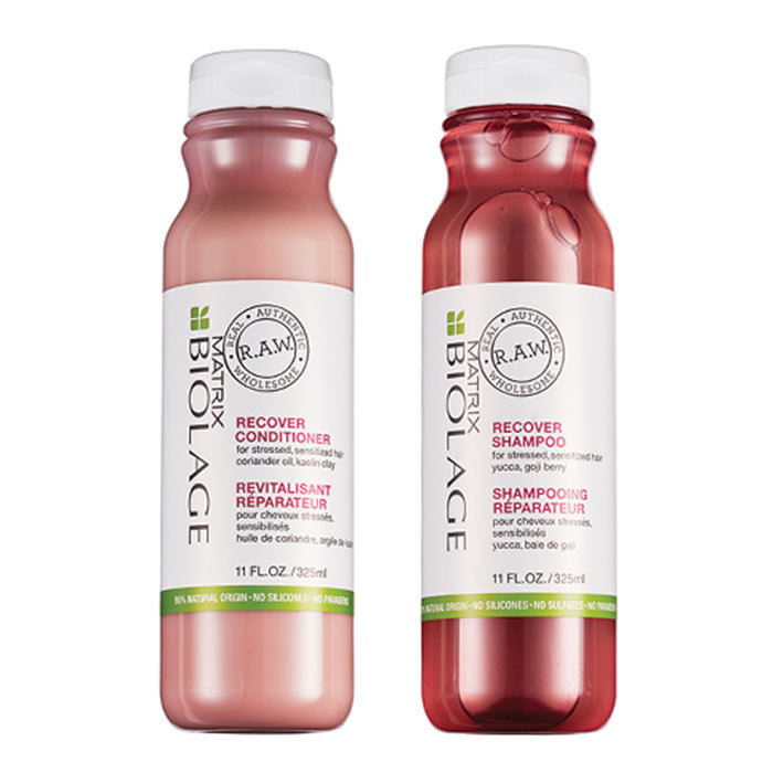 "<h2><strong>Biolage</strong></h2><p>R.A.W. Shampoo and Conditioner, $25 each, <a href=""https://www.matrixprofessional.ca/"" target=""_blank""><em>matrixprofessional.ca</em></a></p><p>Rethink your suds routine with this eco line of shampoos and conditioners. The formulas are biodegradable, the bottles are recyclable (made from former plastic water bottles) and, while they're sulphate free and gentle on hair, they don't skimp on a rich, satisfying lather.</p>"