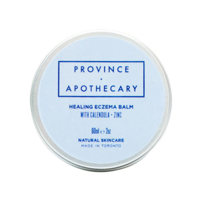 "<h2><strong>Province Apothecary</strong></h2><p>Healing Eczema Balm, $19, <a href=""https://provinceapothecary.com/products/healing-eczema-balm"" target=""_blank""><em>provinceapothecary.com</em></a></p><p>This&nbsp;concentrated&nbsp;balm for adults and babies alike harnesses the power of cell-renewing rose hip, hydrating hemp seeds, restorative zinc and itch-relieving turmeric to calm and heal skin irritations like eczema, swelling and dryness.</p>"
