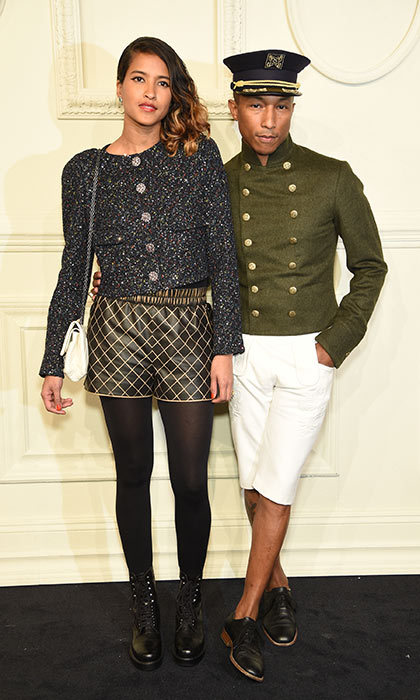 <h3>Pharrell Williams and Helen Lasichanh</h3><p>Hats off to the music producer and his designer wife, who always push boundaries on the red carpet. They're both fans of artistic details, textured fabrics and quirky accessories. Their outside-the-box outfits impress wherever they go, including at Chanel's 2015 Metiers d'Art show in New York City.</p><p>Photo: &copy; Getty Images</p>