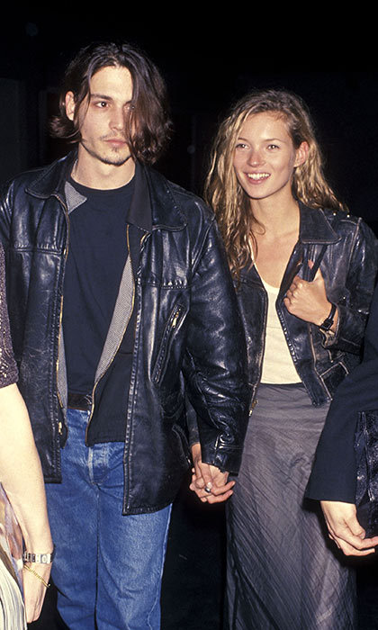 <h3>Johnny Depp and Kate Moss</h3><p>Thanks to the resurgence of &rsquo;90s trends in fashion (chokers! tousled hair! motorcycle jackets!), one-time couple Johnny and Kate are still influential style icons. Their joint appearance at the screening of Johnny&rsquo;s directorial debut, <em>Banter</em>, in 1994, was a prime example of their shared sense of style. They split in 1997, proving that not all sartorial matches are built to last.</p><p>Photo: &copy; Getty Images</p>