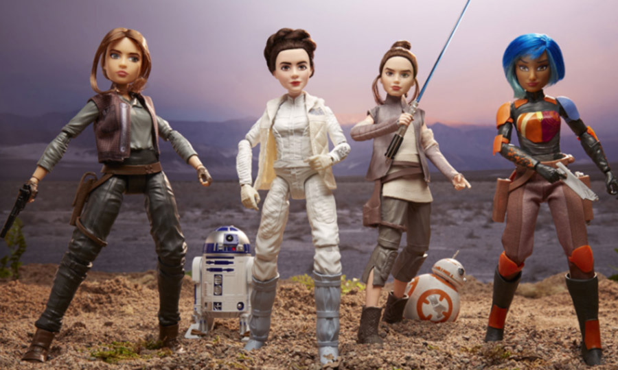 Star Wars' honours iconic female characters in new animated