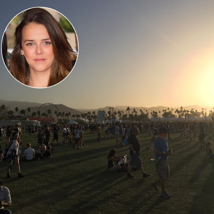 "Prince Albert of Monaco's niece, Pauline Ducruet, couldn't contain her excitement sharing a picture of the festival, which she captioned, ""It's coming .... #COACHELLA #COAECHILLICIOUS #beware #overpostingisback.""
