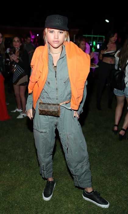 "Sofia Richie attended the NYLON Midnight Garden Party at the festival. Sofia got down to Beyonce's ""Who Run The World"" in the lit up garden with fellow partygoer Rita Ora."