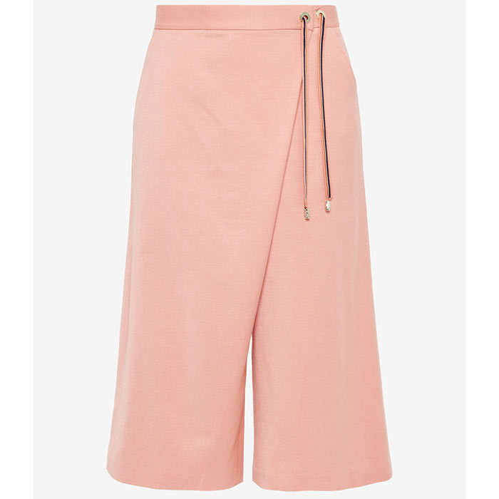 <p>Rayon Crossover Culottes in Coral, $269, <em>tedbaker.ca</em></p>