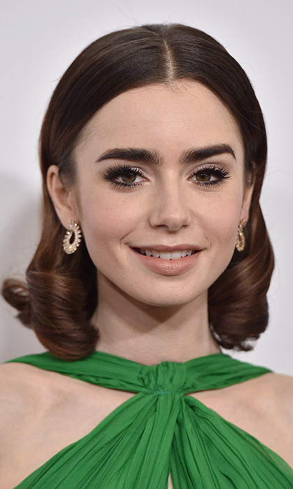 <p><strong>Lily Collins</strong></p><p>Photo: &copy; Getty Images</p>