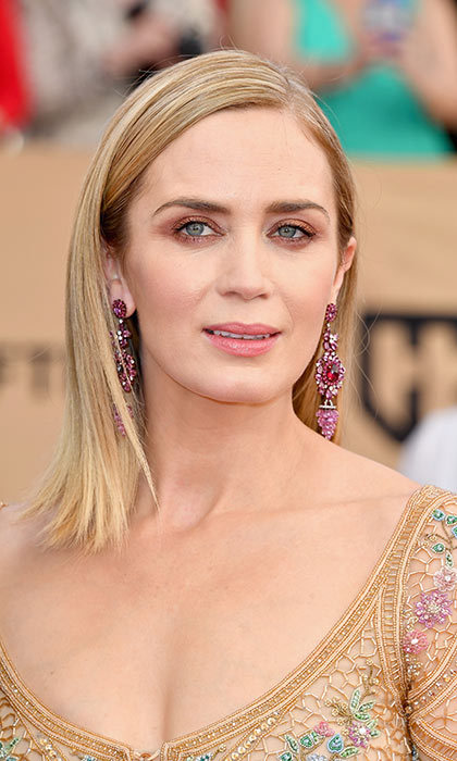 "<h4>SWAP NUDE HUES FOR COPPER</h4><p>The new neutral? Copper, as spotted recently on <a href=""/tags/0/emily-blunt"" target=""_blank"">Emily Blunt</a>'s lids and <a href=""/tags/0/viola-davis"" target=""_blank"">Viola Davis</a>'s lips. ""A lot of people can look washed out in nudes, whereas the warm metal trend gives you a little more oomph,"" says Derek.</p><p>Nail polish is a great low-risk entry point to the trend, but there are foolproof ways to bring copper into your makeup, too. ""Try it just on your lid so that when your eye is open you don't see it, but when you blink, you get this little flash of copper,"" recommends Derek. To experiment on your lips, Vanessa suggests dabbing copper eyeshadow over gloss. ""Once you get more comfortable, you can start applying denser products,"" she says.</p><p>Mix a hit or two of copper into an otherwise neutral palette for a monochromatic look, or go bold and pair it with purple. ""It seems like it wouldn't work,"" admits Derek. ""But because they're so opposite, they make each other more vibrant when worn together.""</p><p>Photo: © Getty Images</p>"