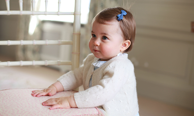 Princess Charlotte, pictured on her first birthday, will turn two in May.