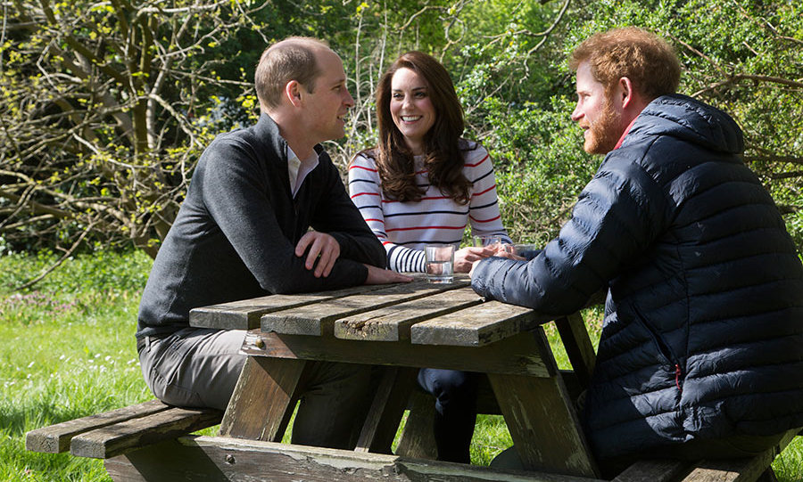 Prince William, Kate and Prince Harry have filmed a video for their Heads Together mental health campaign.