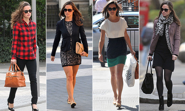 "<p><a href=""/tags/0/pippa-middleton/"" target=""_blank"">Pippa Middleton</a> has certainly mastered the art of daytime dressing, whether she's courtside at Wimbledon or running errands around London. While older sister <a href=""/tags/0/kate-middleton/"" target=""_blank"">Duchess Kate</a> is known for her glamorous gowns and stylish coat-dresses when she's representing the Palace, Pippa has perfected the casual chic ensemble.</p><p>Click through for a gallery of some of her best street style looks.</p>"