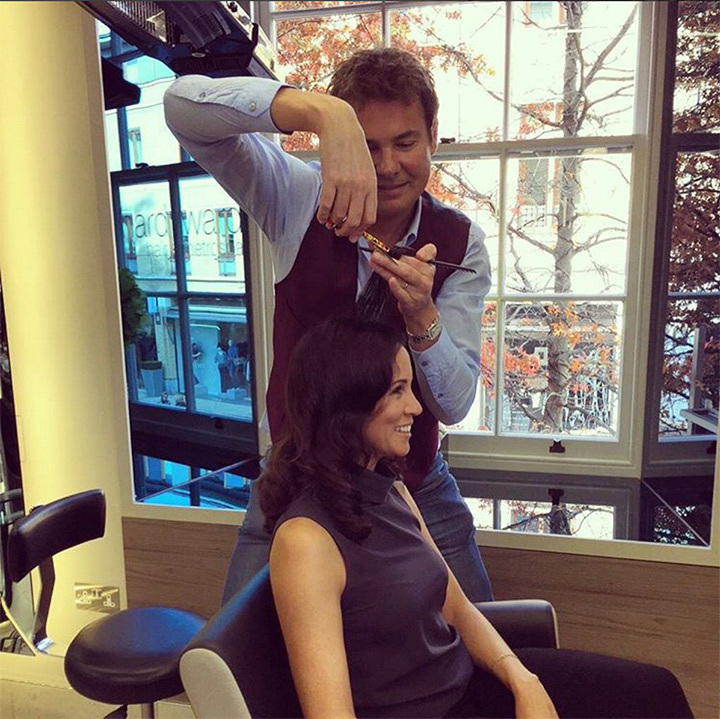 <h4>HAIR BY RICHARD WARD</h4>