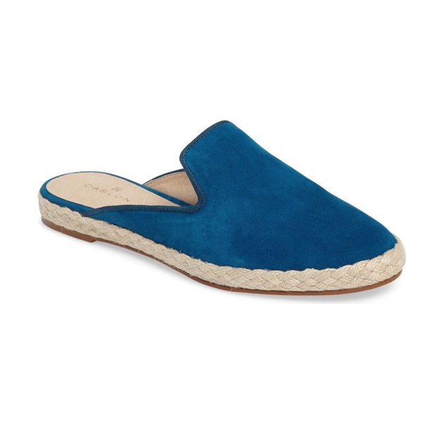 "<p>Logan Espadrille Slide, $99, <a href=""http://shop.nordstrom.com/s/caslon-logan-espadrille-slide-women/4459915?origin=keywordsearch-personalizedsort&amp;fashioncolor=SEDONIA%20BROWN%20SUEDE"" target=""_blank"">Nordstrom</a>.</p>"