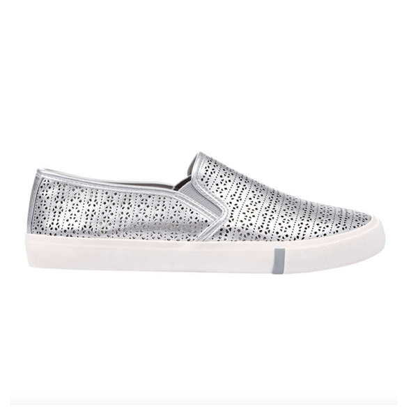 "<p>Etched Silver Slip Ons, $29, <a href=""https://www.joefresh.com/ca/Categories/Women/Shoes-Boots/Etched-Slip-Ons/p/WS7F505021_014"" target=""_blank"">Joe Fresh</a>.</p>"