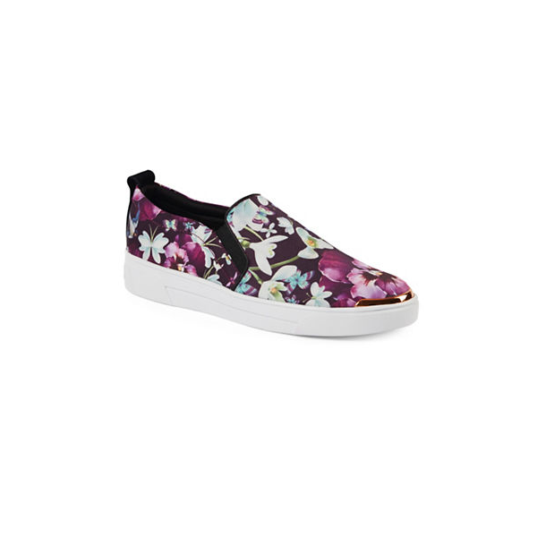 "<p>Ted Baker London Tancey Slip-On Sneakers, $175, <a href=""http://www.thebay.com/webapp/wcs/stores/servlet/en/thebay/tancey-slip-on-sneakers-0600089200401--24?site_refer=CSE_GGLPLA&gclid=CMXX-723rtMCFQsuaQodJq8B3g&gclsrc=aw.ds"" target=""_blank"">Hudson's Bay</a>.</p>"