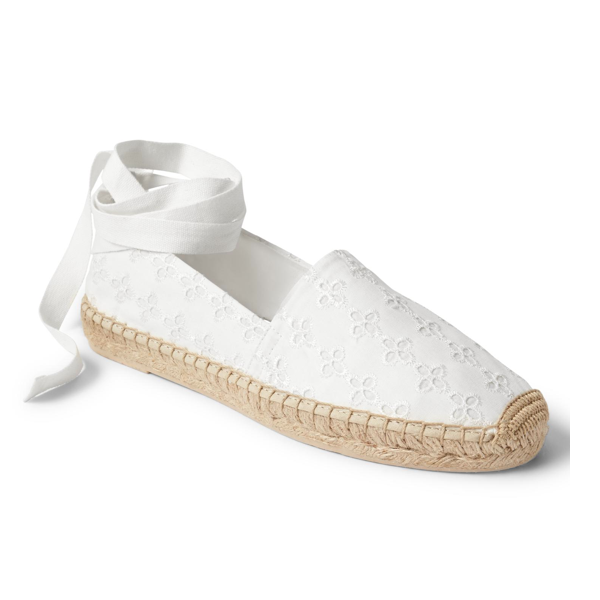 "<p>Eyelet Lace-up Espadrilles, $55, <a href=""http://www.gapcanada.ca/browse/product.do?pid=638219003&vid=1&locale=en_CA&kwid=1&sem=false&sdkw=eyelet-lace-up-espadrilles-P638219&sdReferer=http%3A%2F%2Fwww.gapcanada.ca%2Fproducts%2Fwomens-flats.jsp"" target=""_blank"">Gap</a>.</p>"