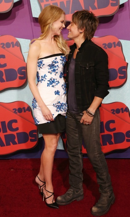 (But seriously, goals!) Nicole and Keith made an adorable pair at the 2014 CMT Music Awards.