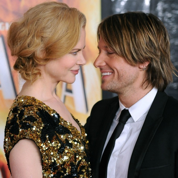 The pair only had eyes for one another at the 2008 premiere of Australia.