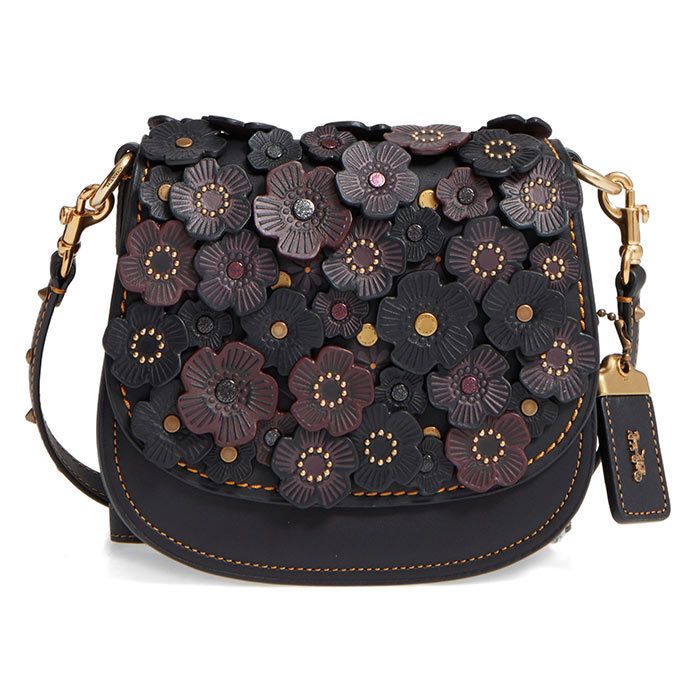 <p>Coach 1941 Tea Rose 17 Leather Saddle Bag, $770, <em>nordstrom.com</em></p>