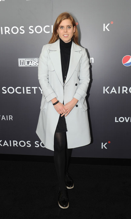 Princess Beatrice wore perfect rainy-day attire as she attended the Kairos Society Global Summit at One World Observatory in New York on April 21. During the event, the British royal chatted with <em>Vogue</em> about philanthropy and her favourite Manhattan hotspots. 