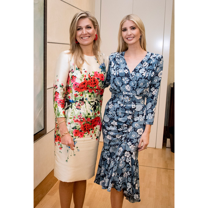 Queen Maxima and Ivanka Trump wore their best spring dresses as they sat on a panel during the Women20 Summit in Berlin, Germany. 
