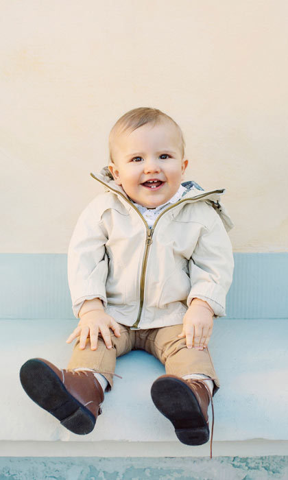 "<p>For his first birthday portraits, <a href=""/tags/0/prince-carl-philip"" target=""_blank"">Prince Carl Philip</a> and <a href=""/tags/0/princess-sofia"" target=""_blank"">Princess Sofia</a> opted for a combination of professional shots and photos taken by his dad. In this photo, the one-year-old, who celebrated his big day on April 19, 2017, flashed a toothy grin.<br />Photo: Erika Gerdemark, The Royal Court, Sweden</p>"