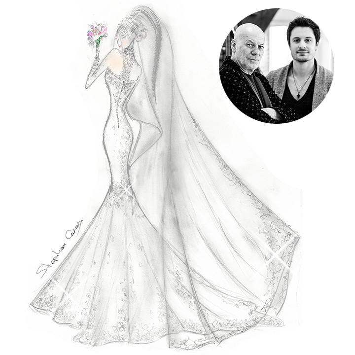 Five Canadian Designers Create Their Dream Wedding Dresses For Pippa Middleton Hello Canada Hello Canada,Black Dress For Winter Wedding