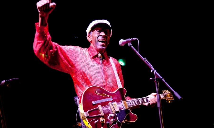 "<h4><strong>Chuck Berry - March 18</strong></h4><p>The rock legend passed away at the age of 90 at his home in Missouri. The St. Charles County Police Department confirmed the death on their Facebook page, writing: ""The family requests privacy during this time of bereavement."" Often dubbed ""the father of rock 'n' roll,"" Chuck (or more officially, Charles Edward Anderson Berry Sr.) was beloved in the music industry, influencing famed groups like The Rolling Stones and The Beatles.</p><p>With hit songs like 'Maybellene,' 'Roll Over Beethoven,' and 'Johnny B Goode,' Chuck helped to develop the rock 'n' roll sound into a distinctive genre and never stopped creating powerful songs.</p><p>The star was making music until the day he passed away, planning to release his first studio album in almost 40 years in June. The album, which is called 'Chuck,' was to be comprised of mostly new material.</p><p>Photo: Vladimir Artev/Epsilon/Getty Images</p>"