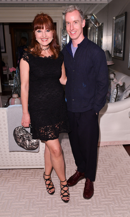 <h4>Suzanne Rogers Hosts Dinner with Emilia Wickstead</h4><p>Alison Eastwood and Cameron Williamson</p><p>Photo: © George Pimentel Photography</p>