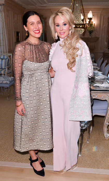 <h4>Suzanne Rogers Hosts Dinner with Emilia Wickstead</h4><p>Emilia Wickstead and Suzanne Rogers</p><p>Photo: &copy; George Pimentel Photography</p>