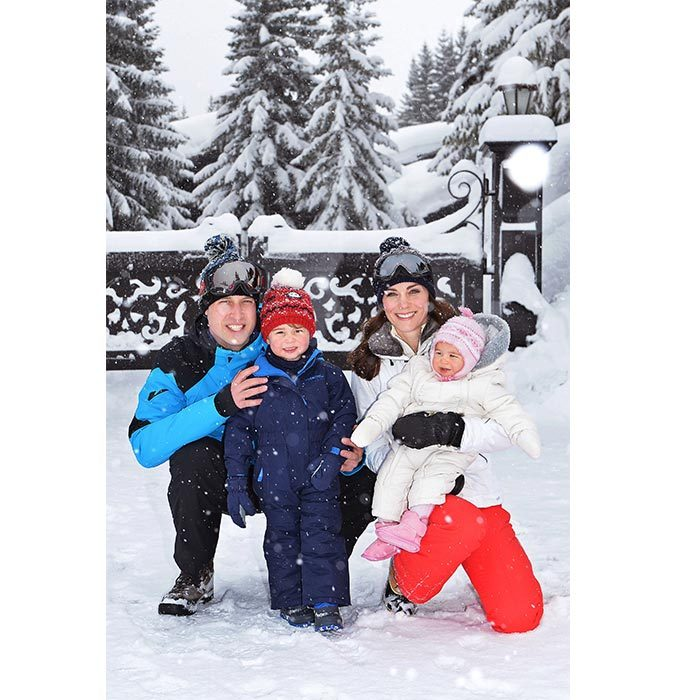 Will and Kate's children Prince George and Princess Charlotte love the great outdoors just as much as their parents! In 2016, the family of four was spotted enjoying a lovely skiing holiday in the French Alps.