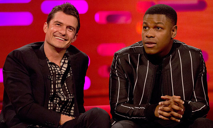 John Boyega talks how Prince Harry is 'down with the lads' on Graham Norton Show.